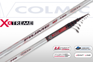 Colmic Fiume XXT 180 Minimal Guide New 2017 7.00mt CAFI831C