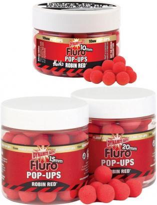 Dynamite Baits Fluoro Pop Ups 20mm Robin Red    DY043