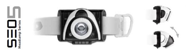 Led Lenser Lampada da testa SEO 5 Grey Art.6105