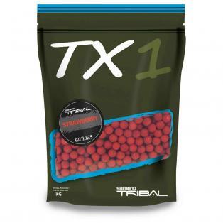 Shimano  - TX1 BOILIES Strawberry 20mm 5kg TX1SBB205000