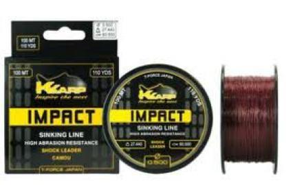 KK Impact Shock Leader K-Karp Impact Shock Leader 0.50mm 100mt 198-35-500