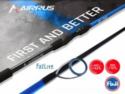 Airrus Bora Fuji FaZlite spinning rods ABR761HF-S