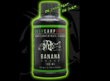 OverCarp Bait Aroma Banana Shake 100ml