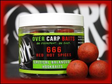 OverCarp HookBaits Red Hot Cili Spyces ''666'' 20mm
