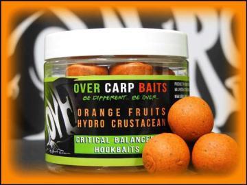 OverCarp HookBaits Orange Fruits & HydroCrustacean 20mm