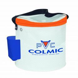 Colmic Secchiello Portavivo PVC Cefalo CON RETE ORANGE SERIES 33*h.23 BOXEVA306