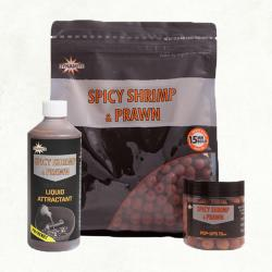 Dynamite Spicy Shrimp & Prawn Boilies 15mm 1kg DY830