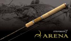 Favorite Arena Tubolar Trout Area  6'8″ (2.04 m)  1.5 - 5 gr  Moderate ARN682UL