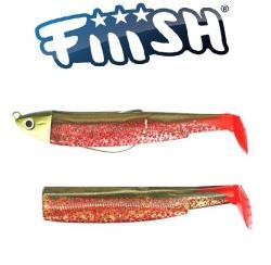 Fiiish Black Minnow N°3 120 Combo Shallow 6g Col.kaki red spigola