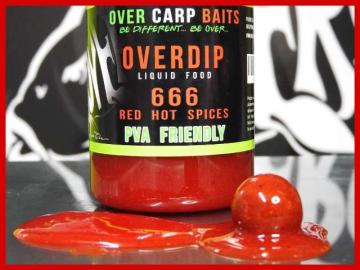 OverCarp OverDip 666 Red Hot Chili Spices 250ml
