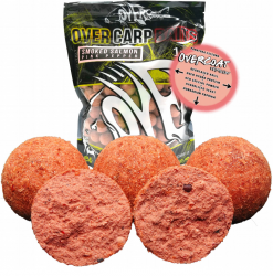 Over Carp Bait Boilies Smoked Salmon Pink Pepper 16mm 1.00kg