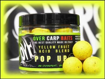 OverCarp Pop Up Yellow Fruit with Citric Acid 16mm