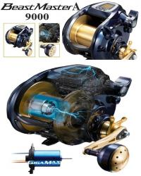 Shimano Beastmaster 9000 A Electric Reel Lever Drag NEW2020 BM9000A