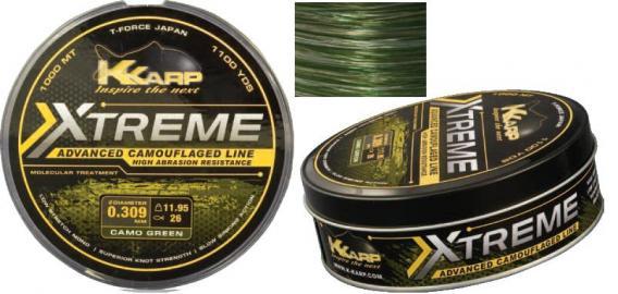 KK Extreme Camouflage Line K Karp Extreme Camouflage Line Verde 1000mt 0.309mm198-31-300