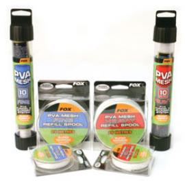 FOX PVA Mesh Super Narrow FOX PVA Mesh Super Narrow 14mm CON DOSATORE E PESTELLO 10m TESS. HEAVYCPV0