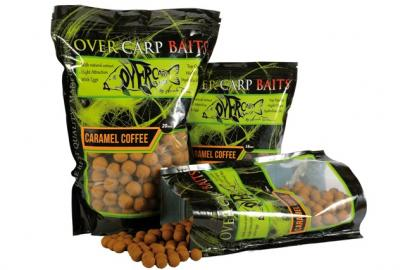 Over Carp Bait Boilies Carame Coffee 16mm 750gr