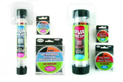 FOX PVA Mesh Narrow FOX  Rete PVA Mesh Narrow 25mm con dosatore e pestello 10m TESS. HEAVYCPV003